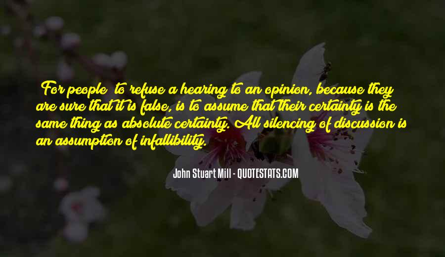 Quotes About Absolute Certainty #564198