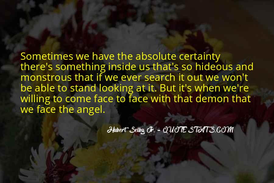 Quotes About Absolute Certainty #862790