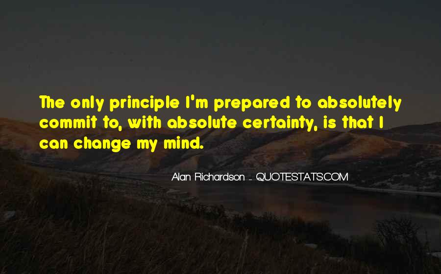 Quotes About Absolute Certainty #88324