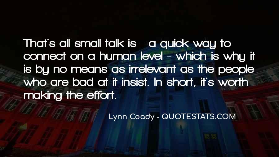 Quotes About People Who Talk Too Much #15635