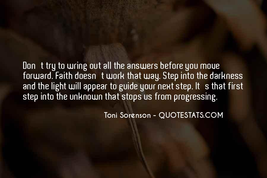 Quotes About Progressing Forward #1747708