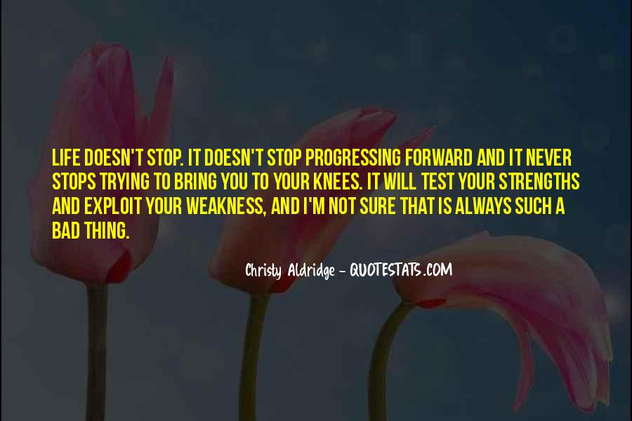 Quotes About Progressing Forward #394817
