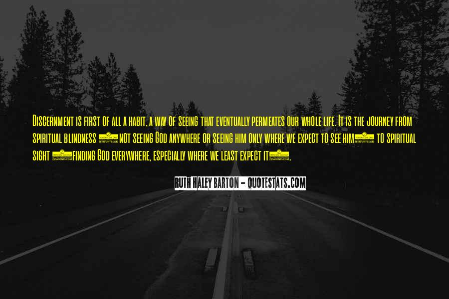 Quotes About Spiritual Blindness #546545