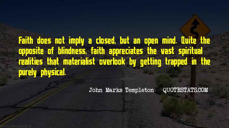 Quotes About Spiritual Blindness #925931