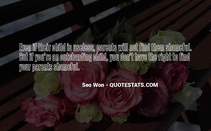Quotes About Useless Parents #491917