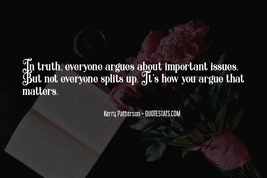 Quotes About Splits #380414
