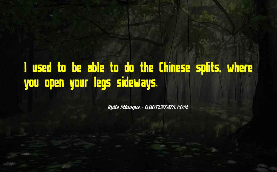 Quotes About Splits #560857