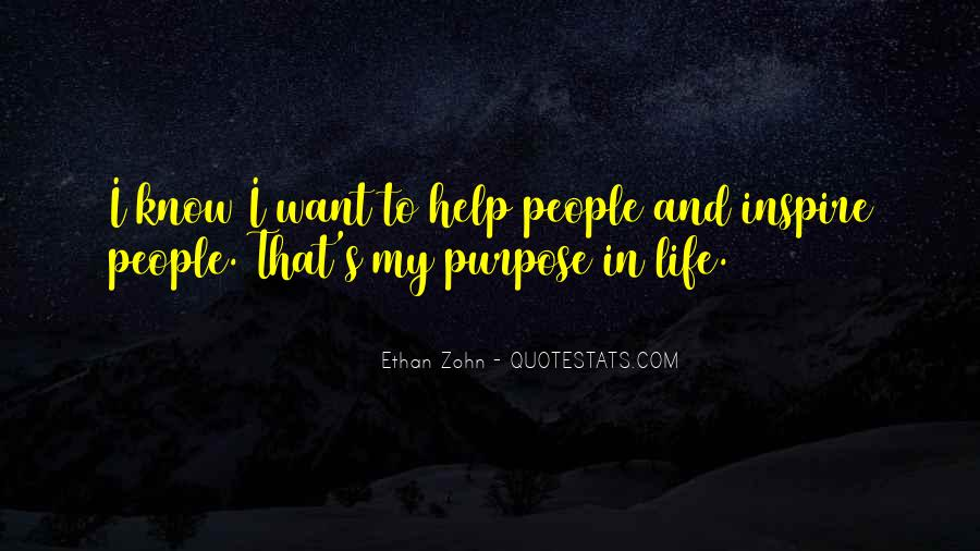Quotes About People Who Inspire Your Life #116889
