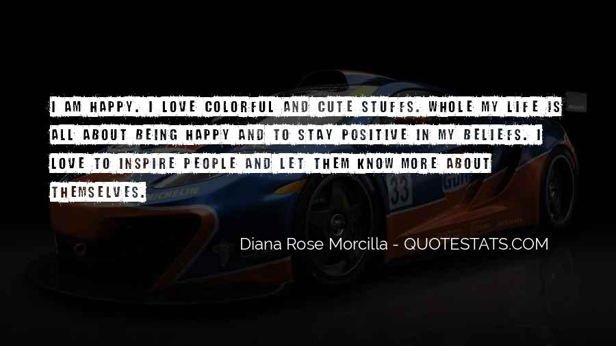 Quotes About People Who Inspire Your Life #205736
