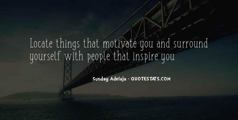 Quotes About People Who Inspire Your Life #42266