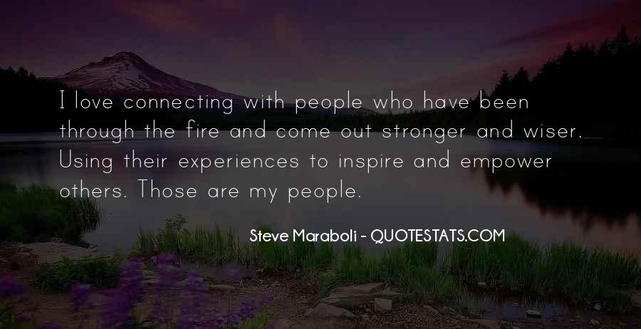 Quotes About People Who Inspire Your Life #503850