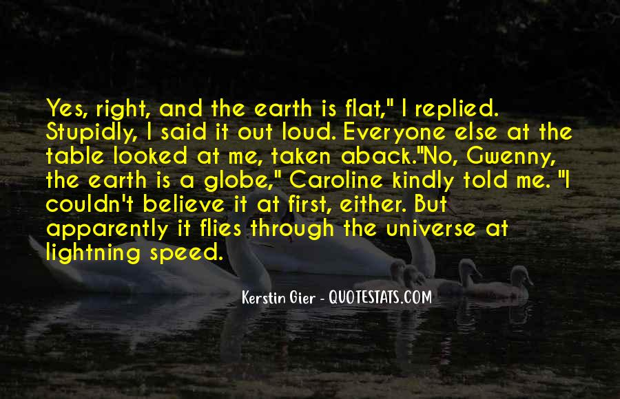 Quotes About Flat Earth #1702235