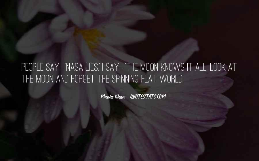 Quotes About Flat Earth #97564