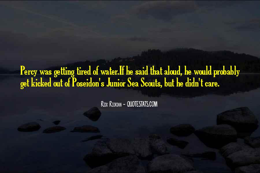 Quotes About Poseidon And The Sea #1579383