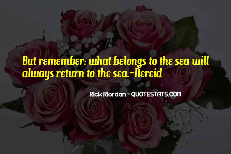 Quotes About Poseidon And The Sea #249627