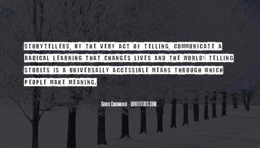 Quotes About Means Of Communication #1282913