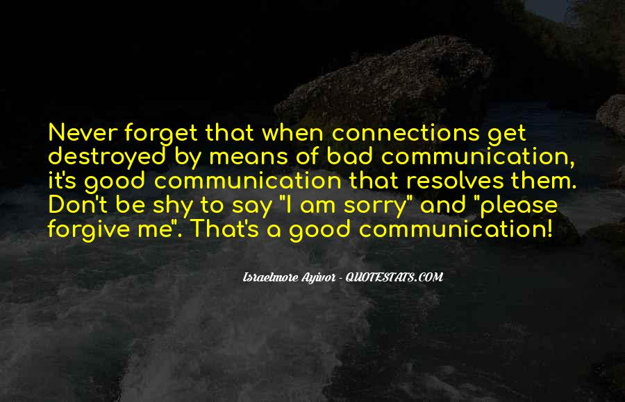 Quotes About Means Of Communication #1311726