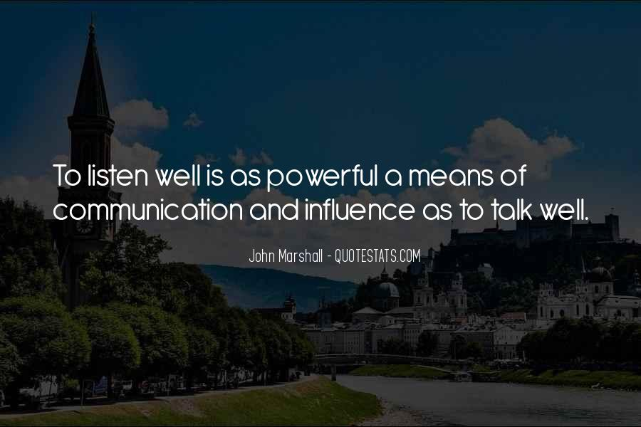 Quotes About Means Of Communication #570205