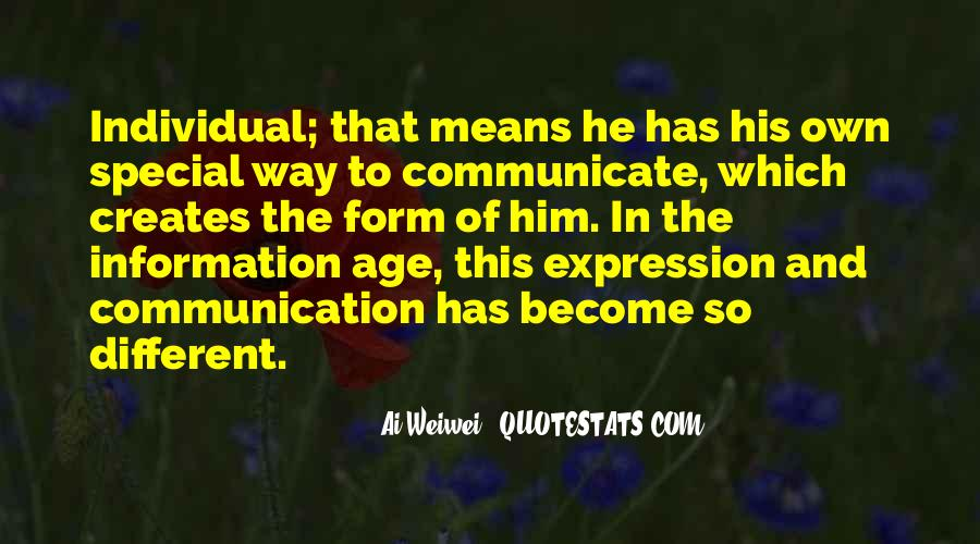 Quotes About Means Of Communication #632646