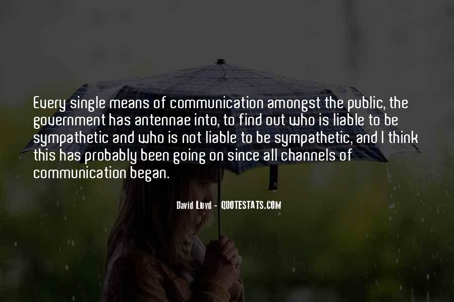 Quotes About Means Of Communication #720457
