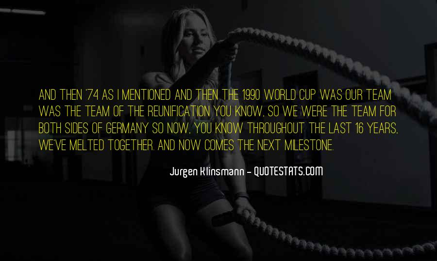 Quotes About Germany World Cup #156861