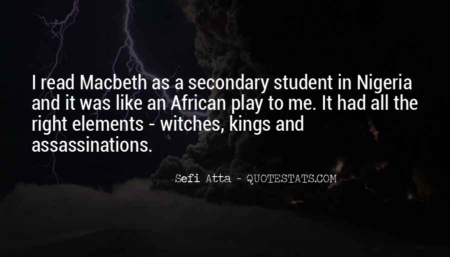 Quotes About The 3 Witches In Macbeth #455837