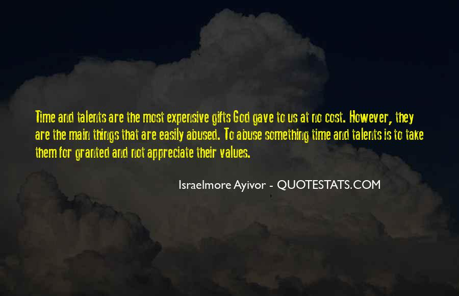 Quotes About Expensive Gifts #79945