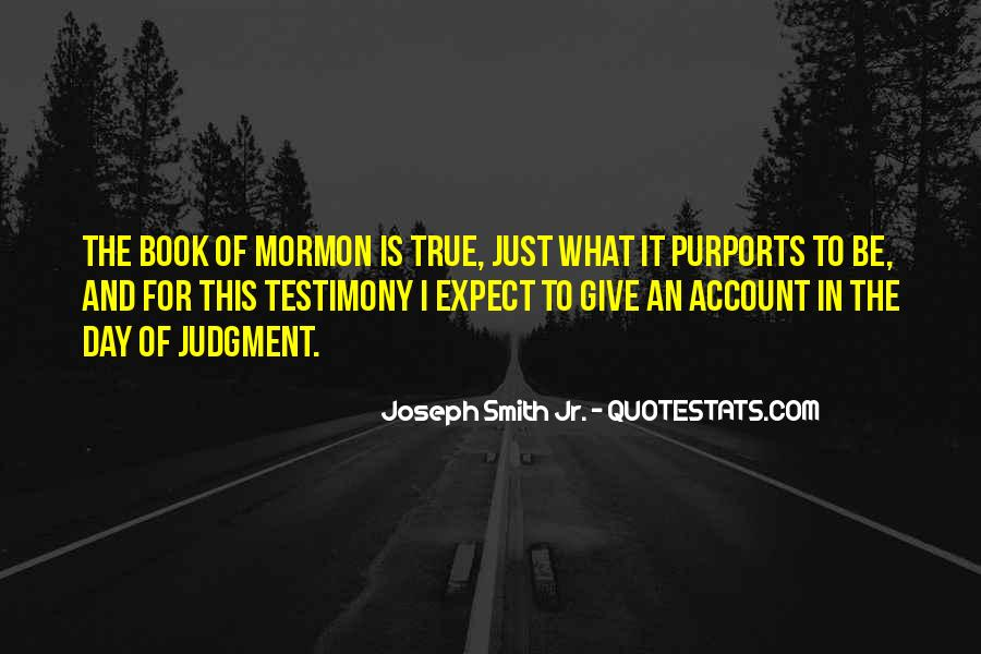 Quotes About Testimony #202113