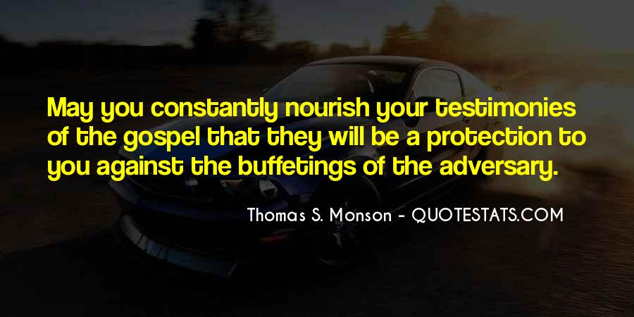 Quotes About Testimony #294601