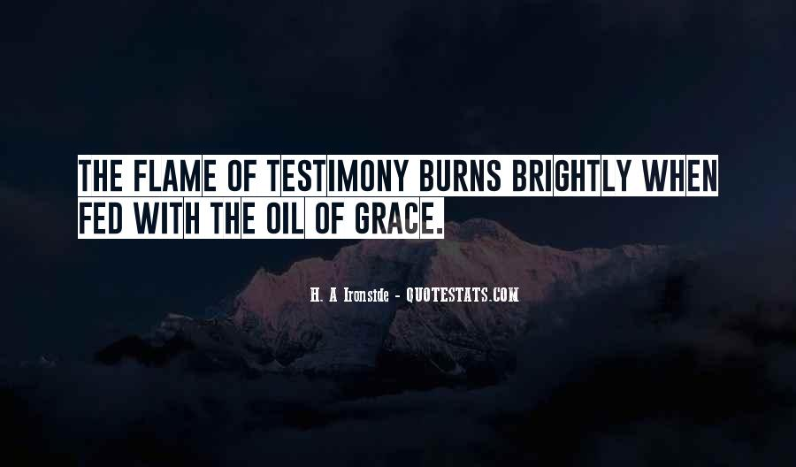 Quotes About Testimony #334882