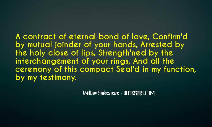 Quotes About Testimony #350941