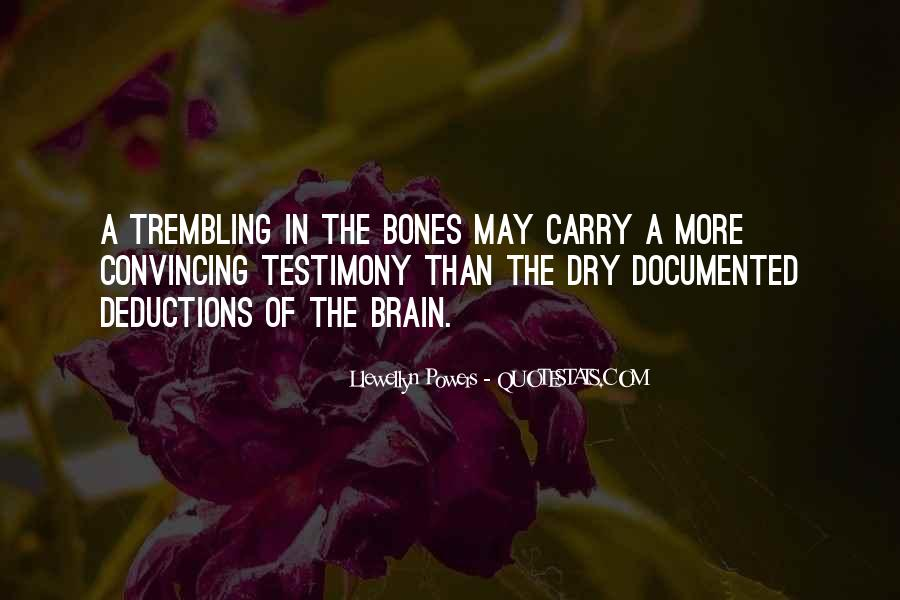 Quotes About Testimony #50608
