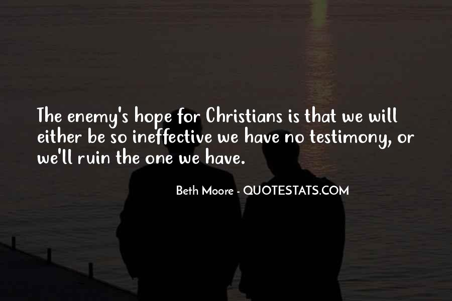 Quotes About Testimony #75622