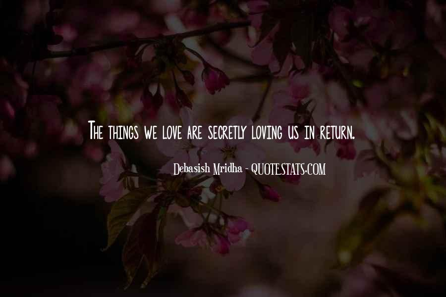 About secretly quotes loving someone Top 86
