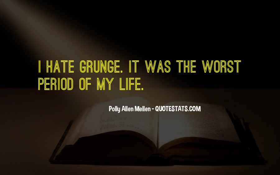 Quotes About Life Grunge #1433288