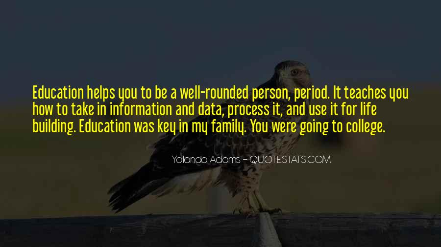 Quotes About Well Rounded Education #1148961
