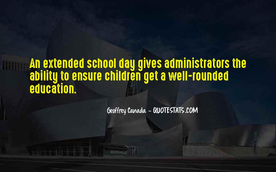 Quotes About Well Rounded Education #1741261