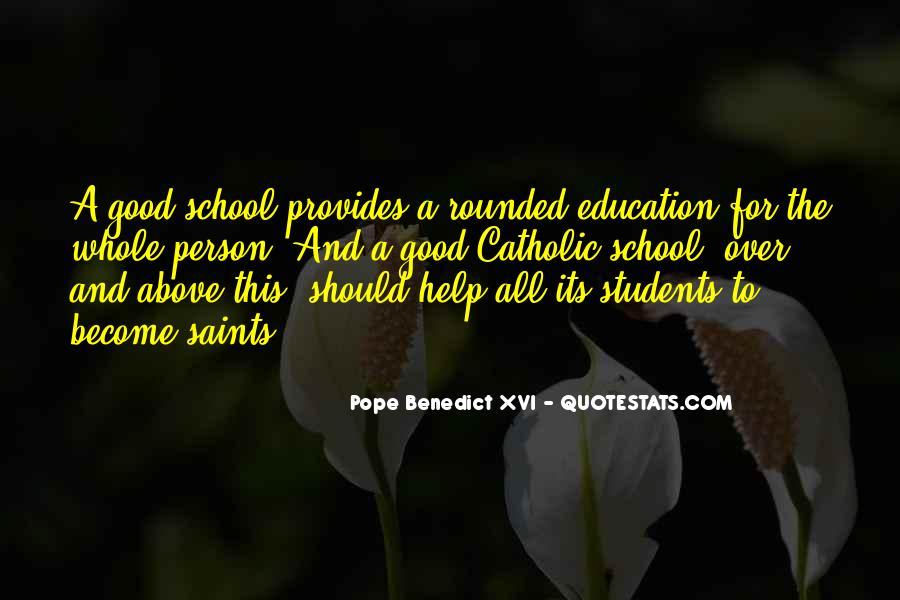 Quotes About Well Rounded Education #909991