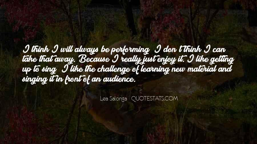 Quotes About Getting Away With Things #129077