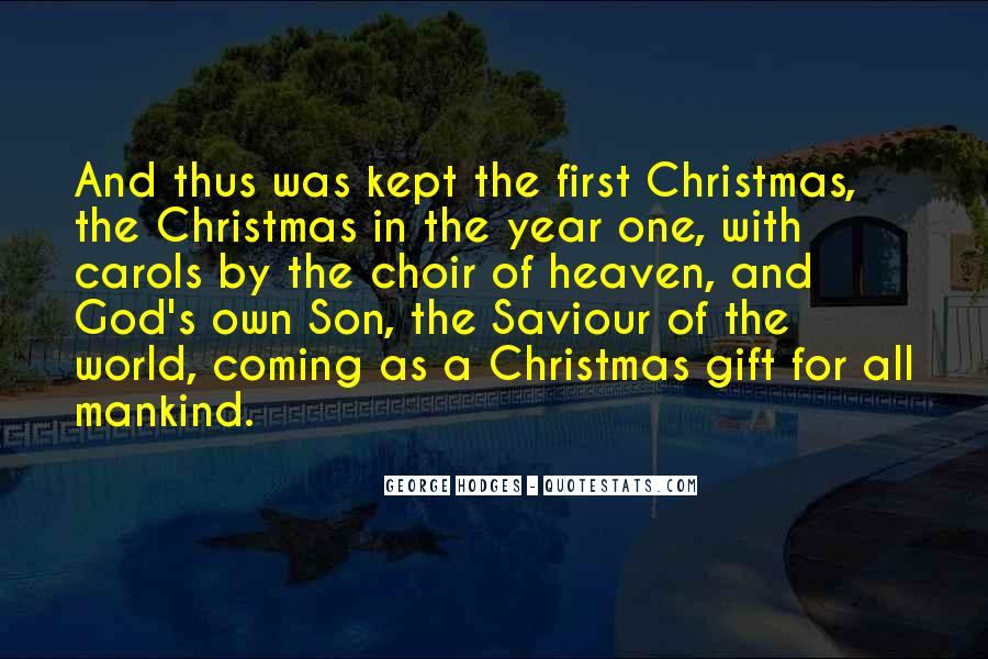 Quotes About God And Christmas #1010413