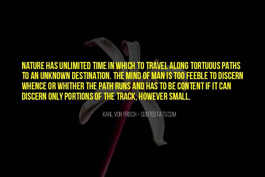 Quotes About Unknown Destination #1139777