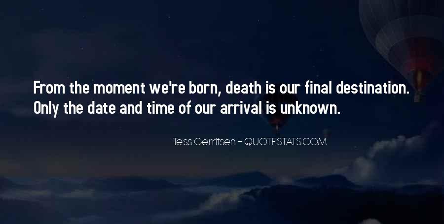 Quotes About Unknown Destination #1599742