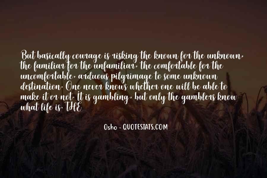 Quotes About Unknown Destination #1865788