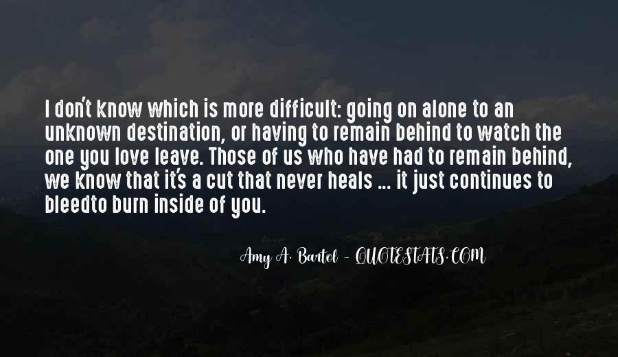 Quotes About Unknown Destination #77456