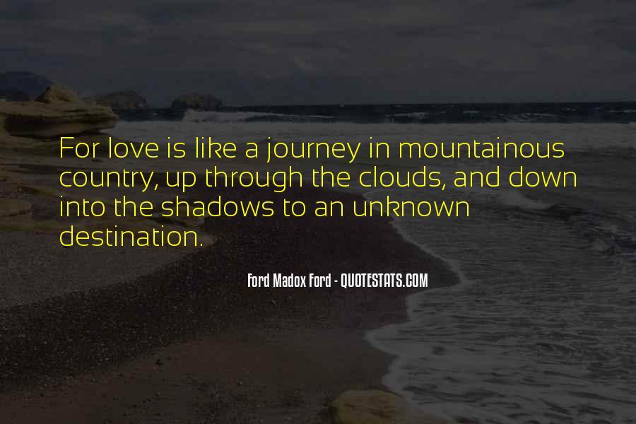 Quotes About Unknown Destination #843549