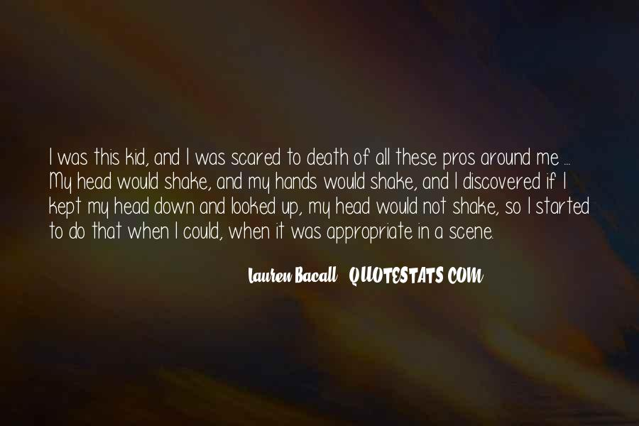 Quotes About Not Scared Of Death #1051826