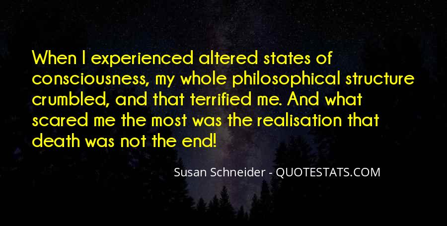 Quotes About Not Scared Of Death #1223239