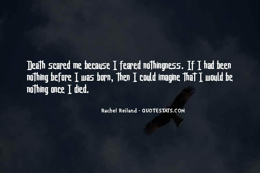 Quotes About Not Scared Of Death #159584