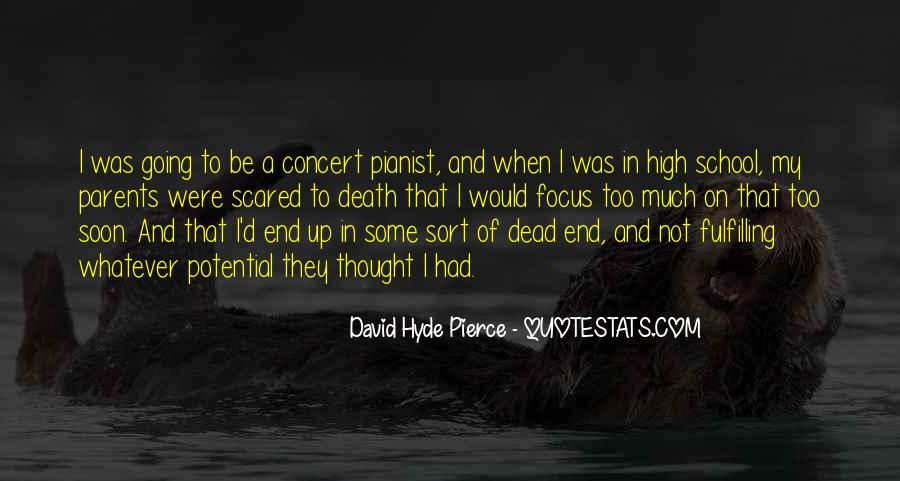 Quotes About Not Scared Of Death #1602651