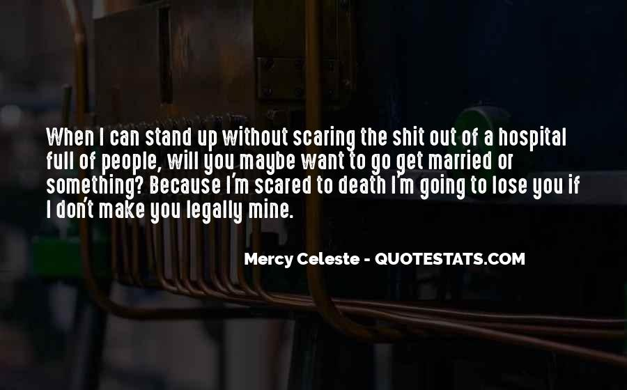 Quotes About Not Scared Of Death #170014